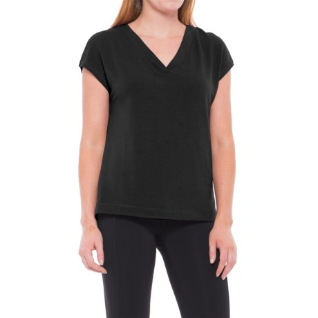 Yogalicious Side-Slit Shirt - Short Sleeve (For Women)