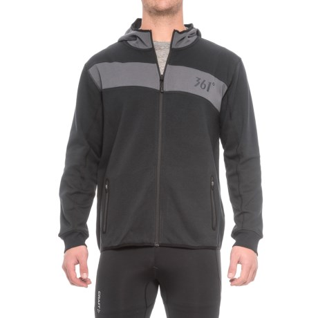 361 Degrees Fit Full-Zip Hoodie (For Men)