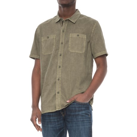 Gramicci Rincon Solid Shirt - Short Sleeve (For Men)