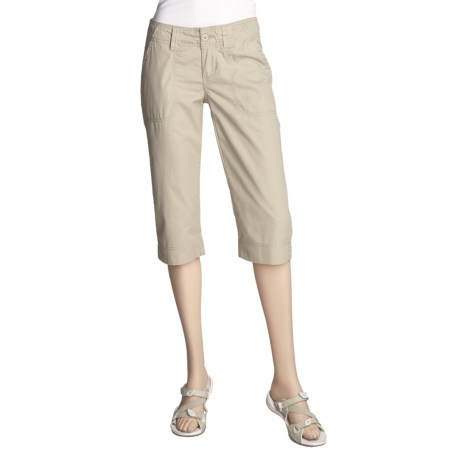 prAna Chino Knicker Shorts - Organic Cotton (For Women)