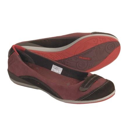 Merrell Allegro Leather Flats - Slip-Ons (For Women)
