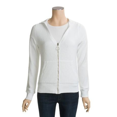 Calispia Sherpa Jacket - V-Neck (For Women)
