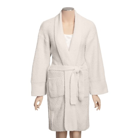 Calispia Chenille Robe - Birdseye Stitch (For Women)