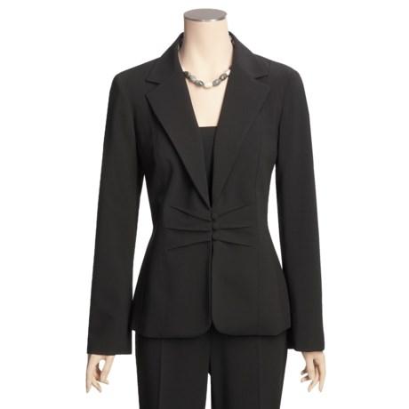 Tribal Sportswear Jacket - Pleat Detail (For Women)