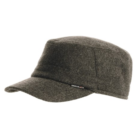 Gottmann Wool Army Hat with Ear Flaps (For Men)