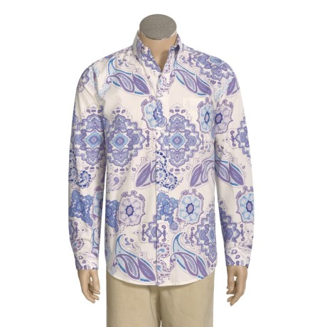 Stetson Paisley Shirt - Long Sleeve (For Men)