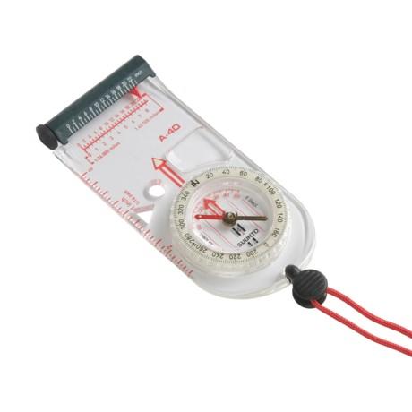 Suunto A-40 Compass - Curvimeter, Luminous Bezel