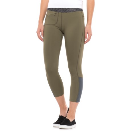 Mountain Hardwear Synergist Capri Tights - UPF 50 (For Women)