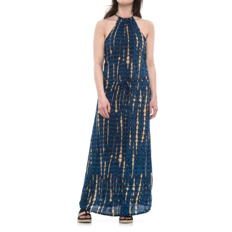 Cherrylane Halter Maxi Dress - Sleeveless (For Women)