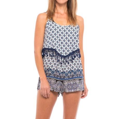 Cherrylane Lace Trim Jumpsuit - Sleeveless (For Women)