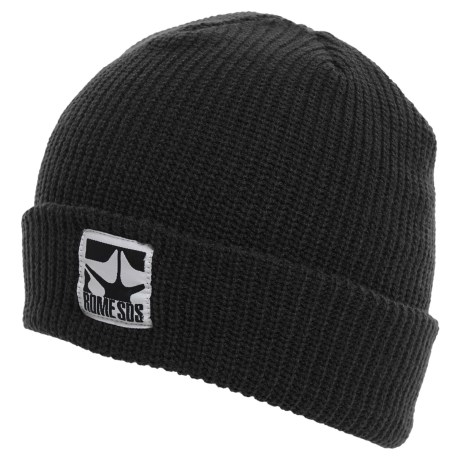 Rome Logo Beanie (For Men)