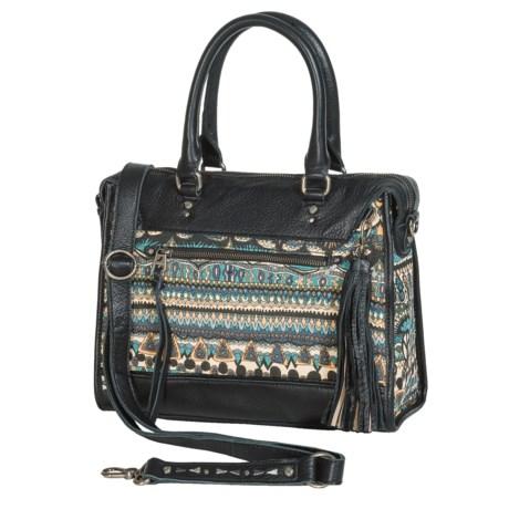 Sakroots Artist Circle Weekender Bag - Leather (For Women)