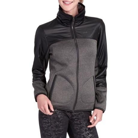 Lole Sherpa-Lined Sweater - Zip Front (For Women)