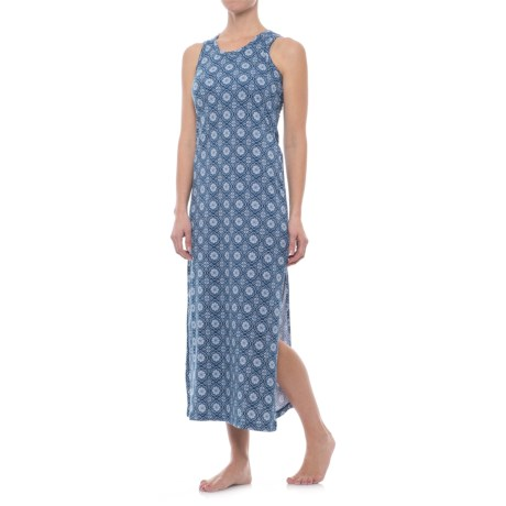 Echo Maxi Dress - Shelf Bra, Sleeveless (For Women)
