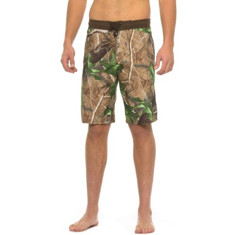 Realtree Contrast Waist HD-E Boardshorts (For Men)