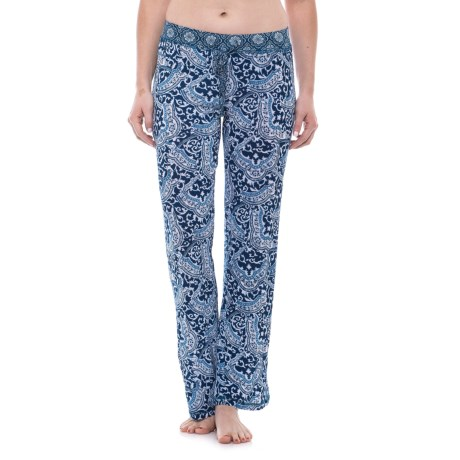 Echo Drawstring Pajama Pants (For Women)