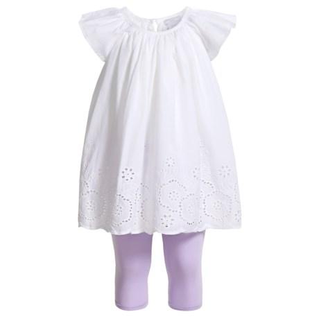 Tahari Flutter Sleeve Dress and Capris Set - 2-Piece, Short Sleeve (For Infant Girls)