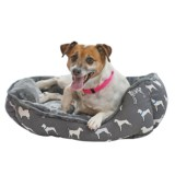 """Beatrice Home Fashions Canine Cuddler Dog Bed - 24x20"""""""