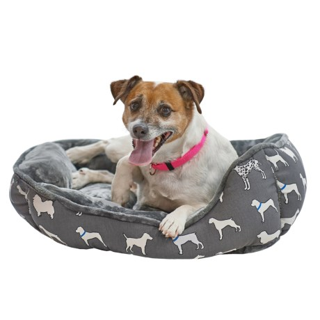 Beatrice Home Fashions Canine Cuddler Dog Bed - 24x20""