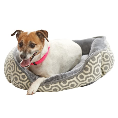Beatrice Home Fashions Abel Cuddler Dog Bed - 24x20""