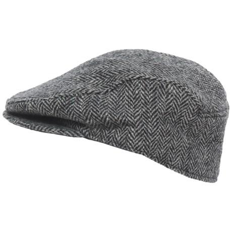 Stormy Kromer Harris Tweed Cabby Cap (For Men)