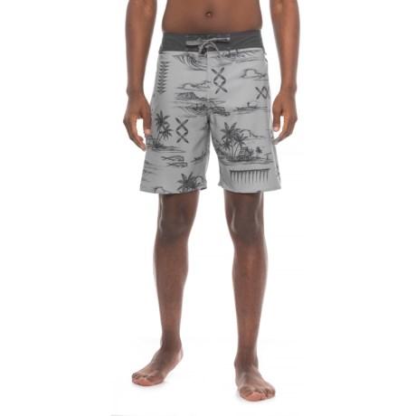 Cova Seascape Boardshorts (For Men)