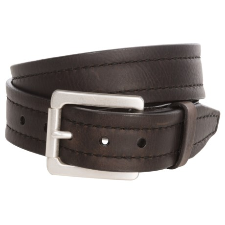 Lejon Parker Bison Leather Belt (For Men)