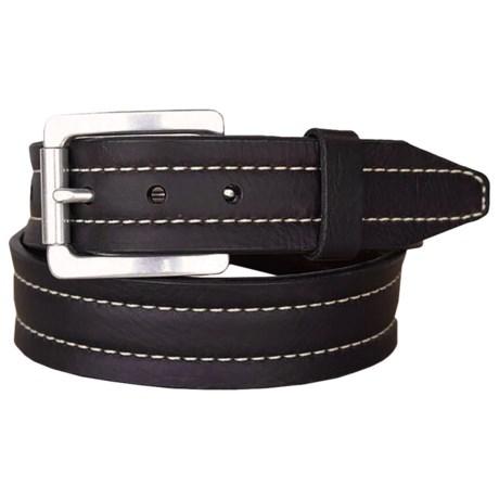 Lejon Mojave II Bison Leather Belt (For Men)