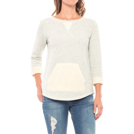 Lilla P French Terry Sweatshirt (For Women)