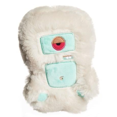 Spunky Pup Alien Flex Harry Plush Dog Toy