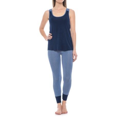 Catherine Catherine Malandrino Racerback Tank Top and Joggers Pajamas (For Women)