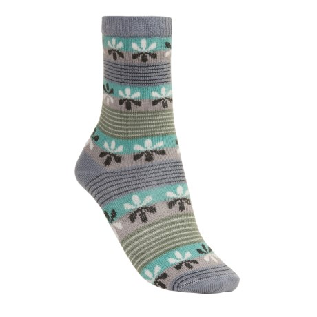 Lorpen Virginia Socks - Modal-Cotton, Crew (For Women)