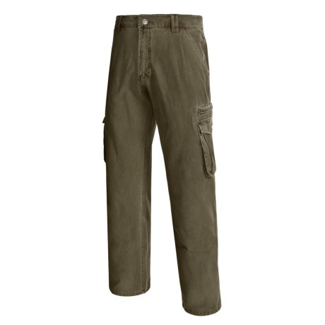 Gramicci Brigade Cotton Pants - Flat Front (For Men)