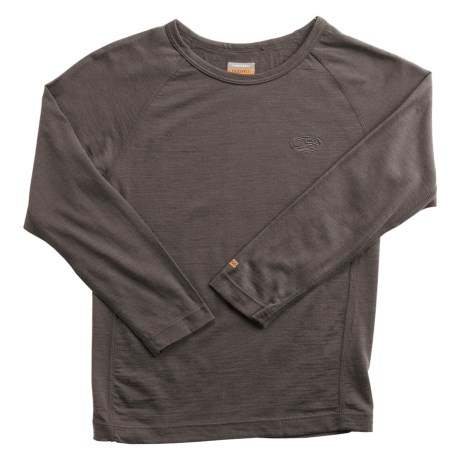 Icebreaker BodyFit 200 Oasis Base Layer Top - Merino Wool, Long Sleeve (For Little and Big Kids)