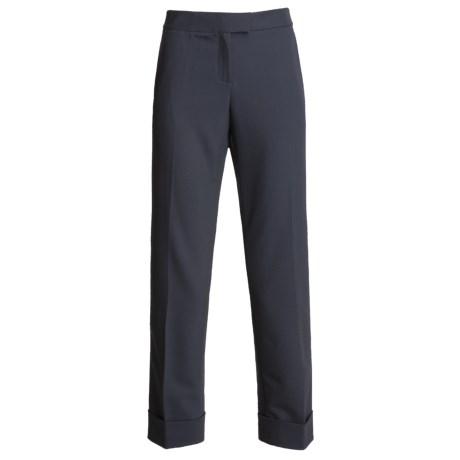 Magaschoni Collection Cuffed Ankle Pants (For Women)