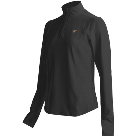 Ariat Ventura Shirt - Zip Neck, Long Sleeve (For Women)