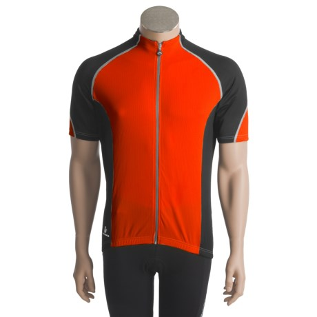 Hincapie Ponteza Cycling Jersey - UPF 30+, Full-Zip, Short Sleeve (For Men)