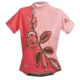 Hincapie Meadow Cycling Jersey - Half-Zip, Short Sleeve (For Women)