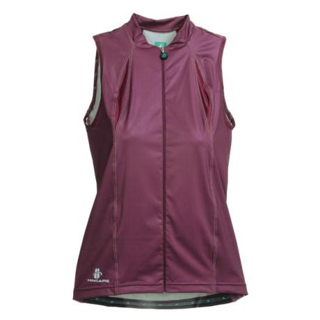 Hincapie Cortina Cycling Jersey - UPF 30+, Full-Zip, Sleeveless (For Women)