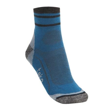 Teko tekoMERINO Light Running Socks - Organic Merino Wool, Minicrew (For Men)
