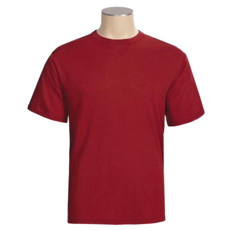 Wickers Wool Blend T-Shirt - Base Layer, Short Sleeve (For Men)