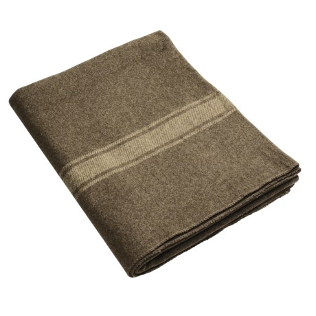 Swiss-Link Italian Wool Army Blanket