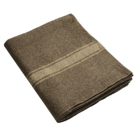 Swiss-Link Italian Wool Army Blanket