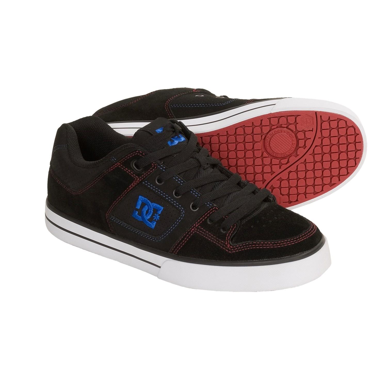 dc shoes pure skate shoes for men 3039u save 30. Black Bedroom Furniture Sets. Home Design Ideas