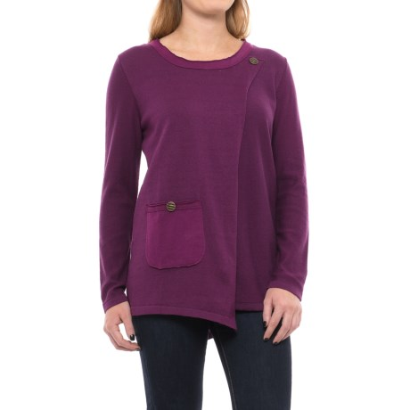 Pure Handknit Michelle Tunic Shirt - Long Sleeve (For Women)