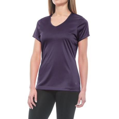Mountain Hardwear Wicked T-Shirt - UPF 25, V-Neck, Short Sleeve (For Women)