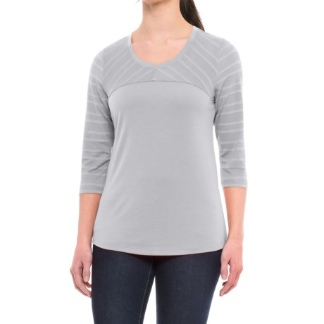 Mountain Hardwear Everyday Perfect AC T-Shirt - UPF 25, 3/4 Sleeve (For Women)