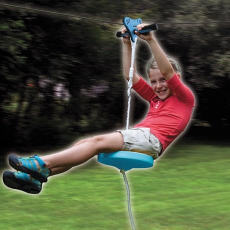 b4Adventure Ripline Epic Zipline with Seat - 80'
