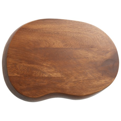 "Palate and Plate Acacia Wood Wave Cutting Board - 10x14"""