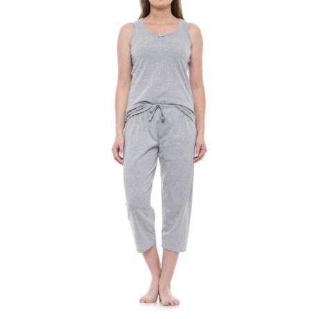 KayAnna Scrunch Front Tank and Capri Pajamas - Sleeveless (For Women)